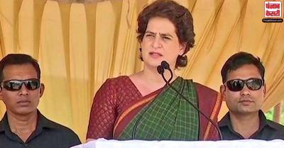 प्रियंका गांधी ने केंद्र पर लगाया किसानों का शोषण करने का आरोप, कहा- आवाज दबाने में लगी है सरकार