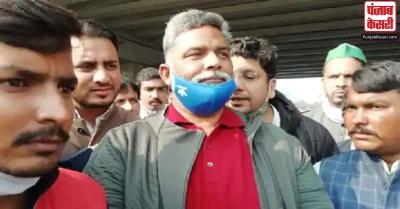 किसान आंदोलन : दिल्ली के गाजीपुर बॉर्डर पहुंचे पप्पू यादव, कहा - किसानों के साथ मेरा पूरा समर्थन