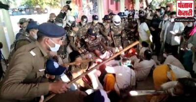 भोपाल में कोरोना वॉरियर्स पर भांजी गई लाठियां, कमलनाथ ने शिवराज सरकार पर साधा निशाना