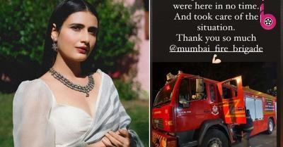 'दंगल' गर्ल फातिमा सना शेख के घर लगी आग, एक्ट्रेस ने फायर ब्रिगेड का शुक्रिया किया