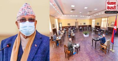 नेपाल : प्रधानमंत्री केपी शर्मा ओली के काठमांडू आवास पर कैबिनेट की आपात बैठक