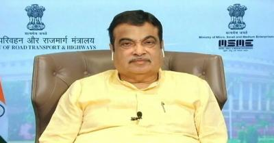 परिवहन मंत्री नितिन गडकरी ने कर्नाटक में 323 करोड़ रुपये की परियोजनाओं की आधारशिला रखी