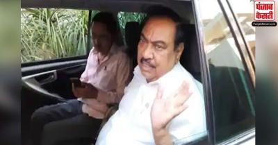 महाराष्ट्र : ED ने राकांपा नेता एकनाथ खडसे से छह घंटे पूछताछ की