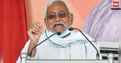 पत्रकारों ने अपराध पर मुख्यमंत्री नीतीश कुमार को घेरा, जोरदार बहस हुई