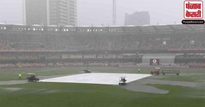 ब्रिस्बेन टेस्ट के दूसरे दिन भारत ने की खराब शुरुआत, बारिश के कारण रोकना पड़ा खेल