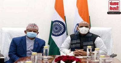 नेपाल और भारत के बीच हुई बैठक, रक्षा मंत्री राजनाथ बोले- दोनों देशों के संबंध परस्पर संपर्क से बंधे