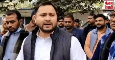 बढ़ते क्राइम को लेकर तेजस्वी ने राज्यपाल से की मुलाकात, कहा- बिहारियों की बलि मत दिजीए CM नीतीश