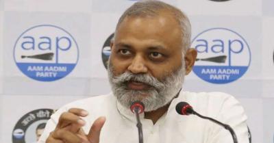 AAP नेता सोमनाथ भारती का CM योगी पर आरोप- उत्तर प्रदेश में अघोषित 'आपत्तिकाल'