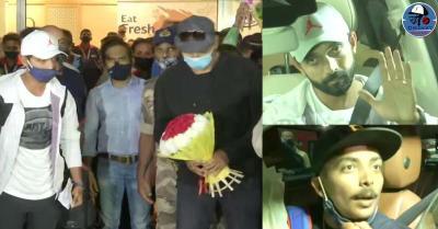 ऑस्ट्रेलिया में इतिहास रचने के बाद स्वदेश लौटी टीम इंडिया,खिलाड़ियों का एयरपोर्ट पर ऐसे हुआ स्वागत
