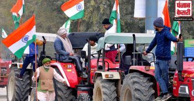 गणतंत्र दिवस पर किसानों की ट्रैक्टर परेड पर निर्णय आज, करीब 30 किलोमीटर के हो सकते हैं 3 रूट