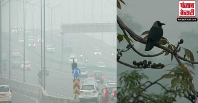 दिल्ली में न्यूनतम तापमान में बढ़ोतरी, कुछ हिस्सों में विजिबलिटी लेवल में गिरावट