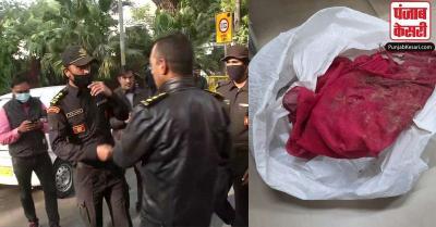 इजरायली एम्बेसी विस्फोट में क्या है इस अधजले कपड़े का रहस्य, धमाके वाली जगह पहुंची NSG की टीम
