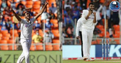 पिंक बाॅल टेस्ट मैच में अक्षर पटेल हैटट्रिक से चूके, पहले ही ओवर में इन दो खिलाड़ियों को बनाया अपना शिकार