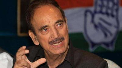राज्यसभा से रिटायर हुआ हूं, राजनीति से नहीं, जम्मू-कश्मीर राज्य के लिए लड़ाई जारी रखूंगा : आजाद