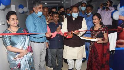 कृषि मंत्री अमरेंद्र प्रताप सिंह ने किया दृष्टिकुंज नेत्रालय का उदघाटन