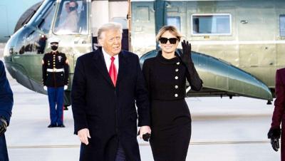 अमेरिका के पूर्व राष्ट्रपति डोनाल्ड ट्रंप ने पत्नी सहित निजी तौर पर लगवाया कोविड का टीका