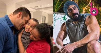 छोटी बहन अर्पिता के साथ सलमान खान की थ्रोबैक तस्वीर हुई वायरल, शर्टलेस होकर भाईजान ने यूं पोज दिया