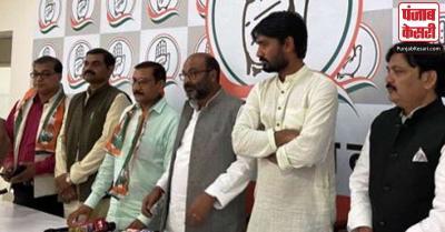 उत्तर प्रदेश : बसपा के पूर्व विधायक धीरेंद्र प्रसाद कांग्रेस में शामिल, कहा- कांग्रेस ही लड़ रही दलितों की असली लड़ाई
