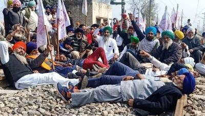 किसान, मजदूर अब 13 मार्च को रेल ट्रैक जाम करेंगे : भारतीय किसान संघ