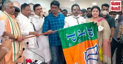 पश्चिम बंगाल में TMC को एक और झटका, 5 विधायक पार्टी छोड़कर बीजेपी में हुए शामिल