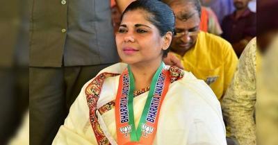 भाजपा उम्मीदवार भारती घोष ने गिरफ्तारी वारंट पर रोक लगाने के लिए सुप्रीम कोर्ट का किया रुख