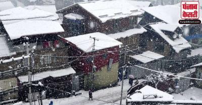 Weather update : जम्मू-कश्मीर में ताजा बर्फबारी और बारिश