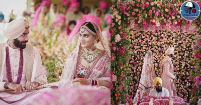 जसप्रीत बुमराह ने टीवी एंकर संजना गणेशन संग लिए फेरे,देखें कपल की शादी की अनसीन तस्वीरें
