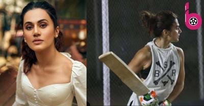 मिताली राज के रोल के लिए क्रिकेट की प्रैक्टिस कर रही हैं तापसी पन्नू, यूं पसीना बहा रहीं है एक्ट्रेस !