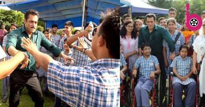 स्पेशल किड्स के साथ सलमान खान ने बिताई अपनी शाम, वीडियो शेयर कर बोले- सभी को मेरा प्यार...