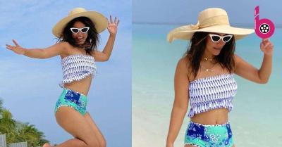मालदीव में 'जलपरी' बनीं हिना खान ने इस बार शेयर की स्ट्रैपलेस बिकिनी तस्वीर, फैन्स ने सुनाई खरी खोटी