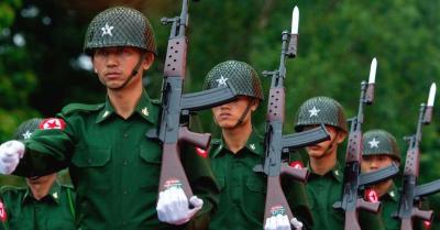 म्यांमा में सैन्य सरकार के विरोधियों ने 2008 के संविधान को अमान्य घोषित किया
