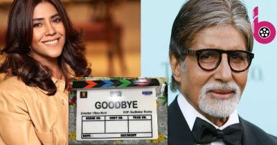 एकता कपूर का इंतज़ार हुआ पूरा, अमिताभ बच्चन के साथ फिल्म गुडबाय करने का मिला मौका
