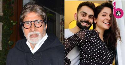 अमिताभ बच्चन ने विराट-अनुष्का की जोड़ी पर बना दिया जोक, नहीं रुकेगी हंसी