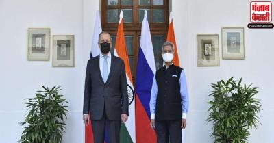 जयशंकर ने रूस के विदेश मंत्री सर्गेई लावरोव से बातचीत की, शिखर सम्मेलन की तैयारियों को लेकर हुई चर्चा