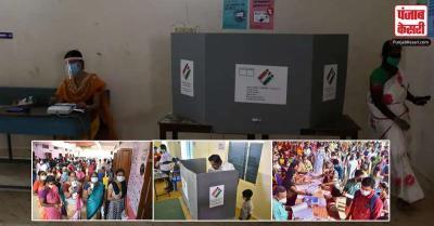 तमिलनाडु विधानसभा चनुाव में 71.79 प्रतिशत मतदान हुआ