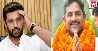 LJP के इकलौते विधायक JDU में शामिल, नाखुश लोगों को पार्टी में बनाए रखना चिराग के लिए बड़ी चुनौती