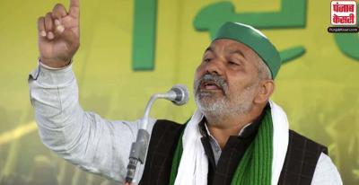किसान आंदोलन : टिकैत बोले-किसानों को कमजोर नहीं समझे सरकार