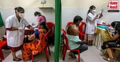 भारत में प्रतिदिन दी जा रहीं कोविड-19 वैक्सीन की 34 लाख से अधिक खुराकें : स्वास्थ्य मंत्रालय