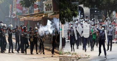म्यांमार में प्रदर्शनकारियों के खिलाफ जुंटा ने की कड़ी कार्रवाई, सैन्य प्रवक्ता ने ठहराया उचित