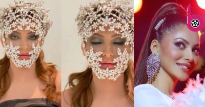Urvashi Rautela ने diamond studded face masquerade में शेयर किया वीडियो, सोशल मीडिया पर हुई ट्रोल