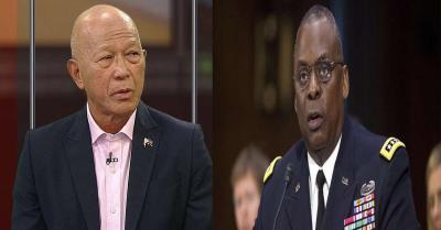 अमेरिका और फिलीपीन के रक्षा मंत्रियों ने चीनी नौकाओं की तैनाती पर चिंता जताई