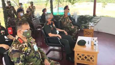 भारतीय सेना प्रमुख नरवणे ने बांग्लादेश में सेना प्रमुखों के सम्मेलन में लिया हिस्सा