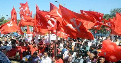 अज्ञात बदमाशों ने की मार्क्सवादी कम्युनिस्ट पार्टी के कार्यालय को आग लगाने की कोशिश