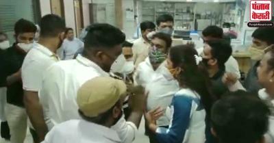 मुंबई के अस्पताल में ऑक्सीजन की कमी से 7 मरीजों की मौत, परिजनों ने किया हंगामा