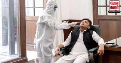 अखिलेश यादव ने कराई कोरोना जांच, कहा- BJP सरकार ने महामारी नियंत्रण का क्यों पीटा ढिंढोरा