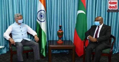 एस जयशंकर ने मालदीव के विदेश मंत्री से की मुलाकात, द्विपक्षीय सहयोग पर की चर्चा