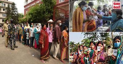 बंगाल में पांचवें चरण का चुनाव मुख्यत: शांतिपूर्ण, शाम पांच बजे तक 78.36 फीसदी मतदान : अधिकारी