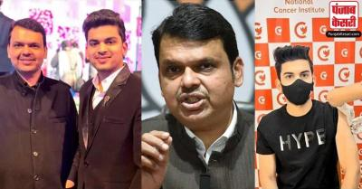 फडणवीस के युवा रिश्तेदार के कोविड-19 का टीका लगवाने पर विवाद, भाजपा नेता ने दी सफाई