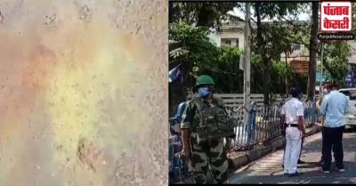 पश्चिम बंगाल में अंतिम चरण के चुनाव के बीच 3 जगहों पर हुई बमबाजी, पार्टियों में हुई आरोप-प्रत्यरोप की शुरुआत