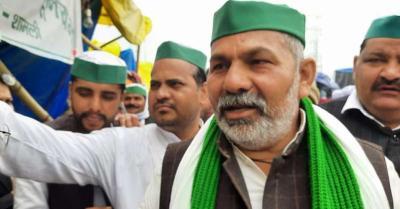 महापंचायत करने के आरोप में राकेश टिकैत और 12 अन्य के खिलाफ मामला दर्ज